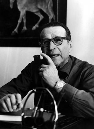 Georges Simenon, Maigrets skapare. Bild: TT