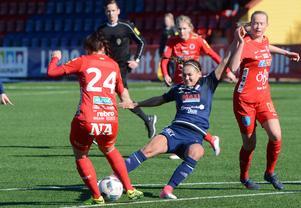 Lova Lundin, Kvarnsvedens enda målskytt mot Kif Örebro.