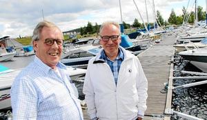 Foto: Boo Ericsson Tidigare ordförande Ture Forssell och nuvarande ordförande Ove Wetterskog.