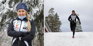 Evelina Bångman valde att satsa på långlopp istället för den traditionella skidåkningen. Foto: Sanna Svanebo