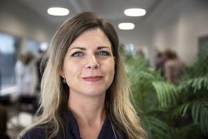 Sofia Jarl, förbundsordförande Centerkvinnorna.