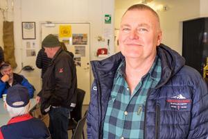 Per-Åke Näsvall tog emot många nyfikna besökare under helgens öppet hus.