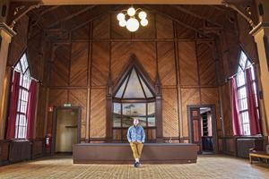Träkyrkan ger konserterna det lilla extra, tycker Emil Westberg.