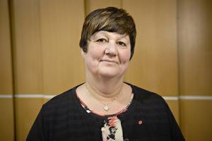 Välfärdsnämndens ordförande Gudrun Sjödin, Socialdemokraterna
