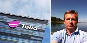 Stefan Clausen tycker att Telia borde bli mer kundinriktade. Nu ser han sig om efter en ny operatör. Bild: TT och privat