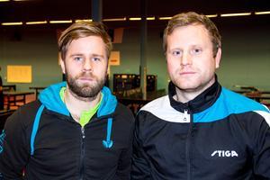 Jon Persson och Jens Lundquist spelar SM på hemmaplan i Söderhamn.