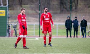 Ferat Ucmaz och Rigest Hysko bildade ett ramstark mittlås. Men mot Fagersta Södra behövdes god hjälp av målvakten Emil Pettersson för att hålla nollan.