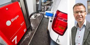 Gustav Melin, vd Svebio, Svenska Bioenergiföreningen skriver om biogas. I Örebro län finns det idag cirka 1300 biogasbilar. Om regeringens förslag blir verklighet tar vi ett stort steg tillbaka i vår strävan mot att bli världens första fossilfria välfärdsland.
