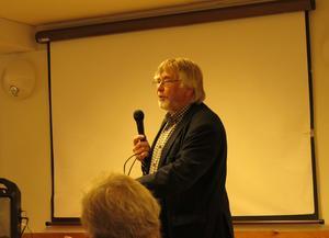 Griggus Per Norberg håller på med lokalhistoria och hade mycket att berätta.