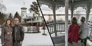 I 20 år har paret Gunnar Groth och Ann Svärd bott i tidigare Odenslundskyrkans anrika sommarhem i Sem.