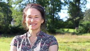 Ann-Marie Tung Hermelin och hennes man har byggt upp kulturverksamhet i Orangeriet.