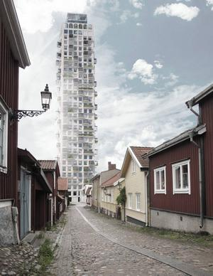 Vy från Gamla Brogatan.