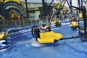 En av Legoland Dubais många åkattraktioner, som man kan åka hur mycket man vill när man väl köpt ett dagskort..