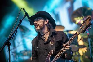 Legendariska Lemmy Kilmister och Motörhead besökte Örebro.  Arkivbild: NA