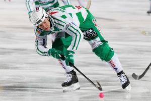 Något Rysslandsäventyr är inte aktuellt just nu för VSK-anfallaren Ted Bergström.