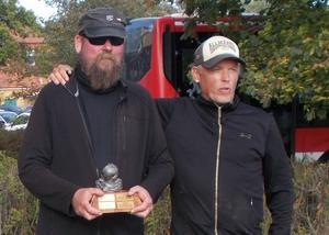 Dubbelvinnarna Jan Westerberg och Conny Carlsson.