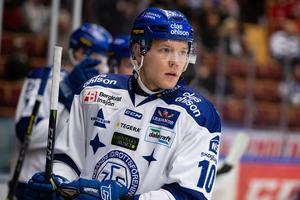 Tor Immo stod för två poäng i första matchen mot BIK Karlskoga. Foto: Daniel Eriksson