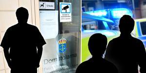 Tre män åtalas vid Falu tingsrätt misstänkta för flera brott mot en flicka. Foto: Klockar Mattias Nääs, Stina Stjernkvist