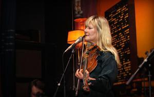 Lena Willemark, bjöd på en stark konsert på Metropol.