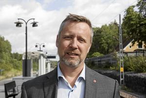 Kommunstyrelsens ordförande Patrik Isestad (S).