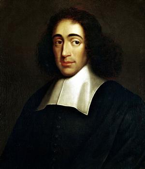 Baruch Spinoza 1665. Okänd konstnär.