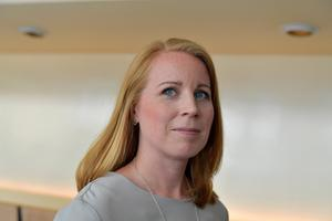 Annie Lööf, partiledare (C).