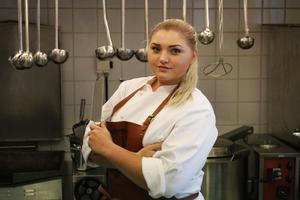 Blenda Thiger är köksmästare och ser fram emot måndagens premiär.
