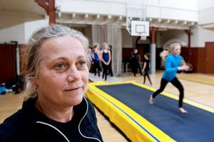 Anette Lilja har under många år varit en av de drivande krafterna i Huskvarna Gymnastikförening.