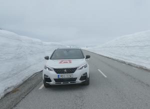 Snömängden och vädret i fjol, på samma plats som år 2020. Foto: Stig-Björn Sundell