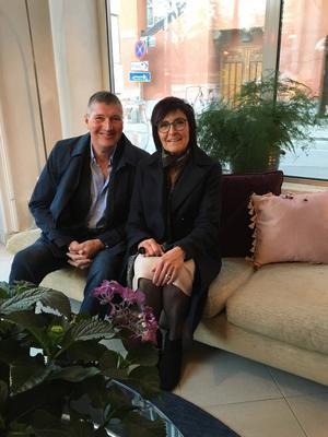 Eva och Bosse träffades för 33 år sedan i Åre, och det var kärlek vid första ögonkastet.