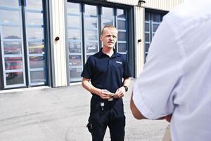 Jan Eriksson är en av de fem som är beredda på att rädda liv.