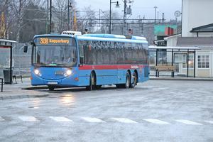 Linje 308 Kopparberg-Lindesberg är en av flera busslinjer som föreslås läggas ned helt.