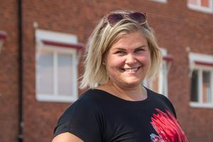 """""""Jag vill vara en lärare med glimten i ögat: rättvis, lite sträng, men varm"""", säger Anna Englund."""