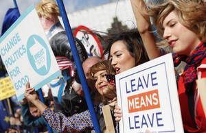 Insändarskribenten vill att Sverige följer Storbritanniens exempel – att lämna EU.
