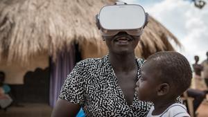 """Mötet med Helen i flyktinglägret Bidibidi i Uganda är det som berört regissören Jesper Wachtmeister mest. """"Hon var så fruktansvärt utsatt, speciellt som hon är ensamstående kvinna"""", säger han. Foto: Kenneth Svedlund Ishii"""