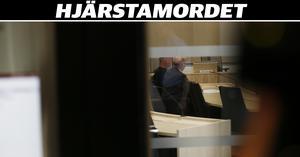 Den misstänkte mannen under häktningsförhandlingen i Örebro tingsrätt.