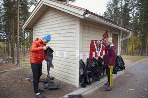 Patrik Svensson och Malin Åström har fått bra respons från eleverna. – Jag tycker vi mötts av glada barn. De frågar ivrigt