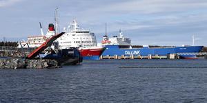 Kapellskärs hamn bygger större omlastningsytor och moderniserar servicekajen. Foto: Anders Sjöberg