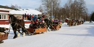 Årets forbonderesa till Röros passerade Hede på torsdagen. Då passade Sonfjället Natur och Kultur på att öppna portarna.