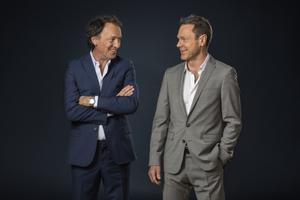 """Kusinerna Lennart och Niklas Ekdal leder SVT:s nya samhällsprogram """"Ekdal och Ekdal"""". Foto: Johan Paulin /SVT"""