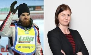 Daniel Henderson och Jessica Eriksson kommer att kommentera SM-finalen i isracing från Hallstavik.