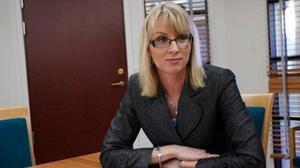Kammaråklagare Jessica Wenna, har själv erfarenhet av att leda ärenden gällande olaga förföljelse. Hon är av uppfattningen att lagstiftningen mot olaga förföljelse är behövs: – I en situation när någon blir stalkad räcker inte de andra bestämmelserna och deras straffvärde till. Foto: Arkiv