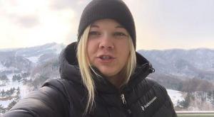 Mittmedias skidexpert Sanna Svanebo på plats i Sydkorea.