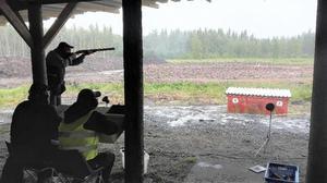 Rödöns jaktskytteklubb arrangerade SM i jaktskytte för första gången någonsin. Tävlingsarena var Krokoms skjutbana. Foto: Fredrik Nykvist