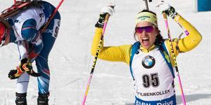 Elisabeth Högberg tilldelades den sistas platsen i svenska VM-truppen.
