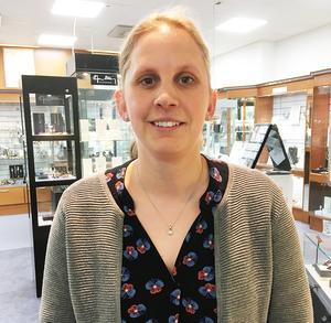 Anna Jakobsson ser fram emot att ta över huvudansvaret i Strands IF.