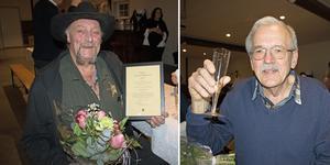Glada vinnare när årets turistföretag och årets hederspris delades ut på Väddö turistråds årsmöte. Prisutdelare var turistrådets ordförande Anders Fransson.