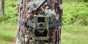 Ett exempel på en olaglig kamera från ett annat fall. Har ingen koppling till fallet ovan. Arkivbild: Polisen