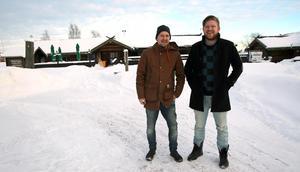 Wasastugan med nytt koncept. André och Michel Fem tror på Moras starka utveckling och satsar därför stort på den nya restaurangen.