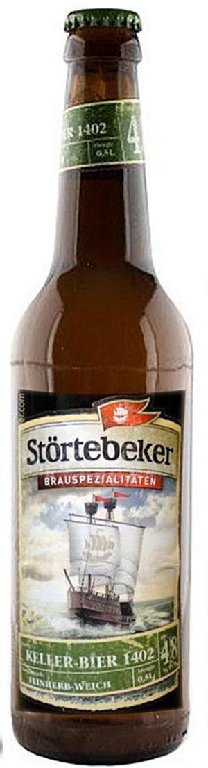 Störtebeker Kellerbier 1402 Bio.